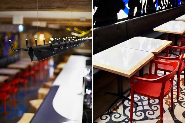 加拿大 barsa 快餐店设计 餐厅设计 快餐店设计 商业空间设计 加拿大