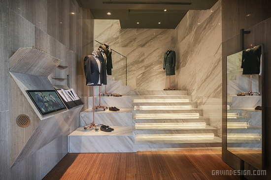 coolette 高级定制男装店面设计 男装店设计 店面设计