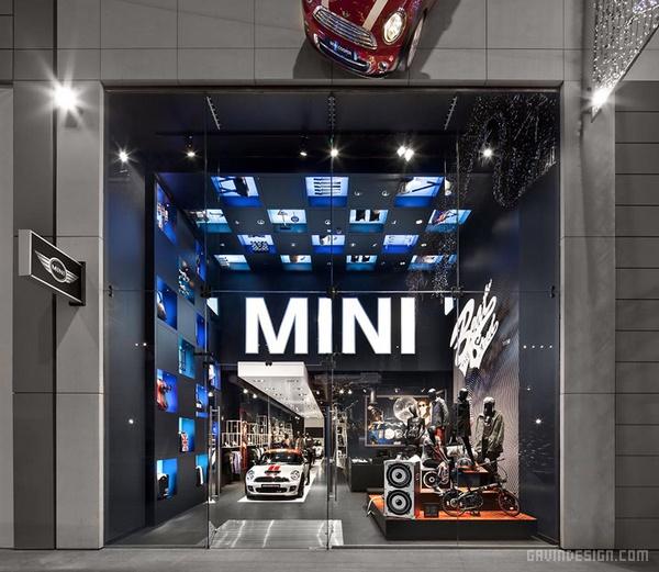 伦敦西田斯特拉特福德MINI品牌汽车店设计 英国 店面设计 专卖店设计