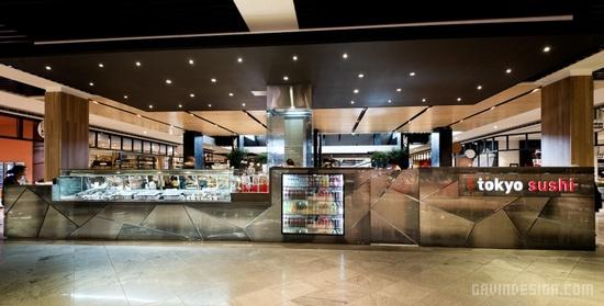 悉尼 Tokyo Sushi 寿司店设计 餐厅设计 澳大利亚 店面设计 寿司店设计