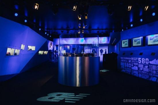 New Balance 580 联名鞋展设计 鞋店设计 商业空间设计