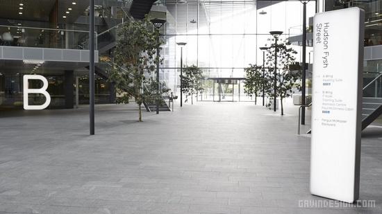 澳航总部办公园区环境导示设计 环境导示设计 澳大利亚 标识设计 导示设计