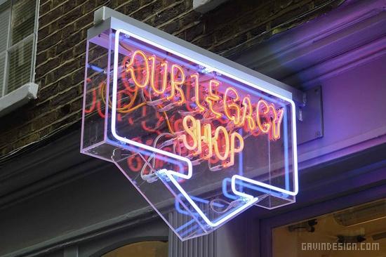 伦敦 Our Legacy 店铺设计 连锁店设计 英国 服装专卖店 店面设计 商业空间设计