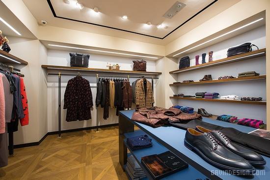Paul Smith 男装专卖店设计 精品店设计 男装店设计 专卖店设计