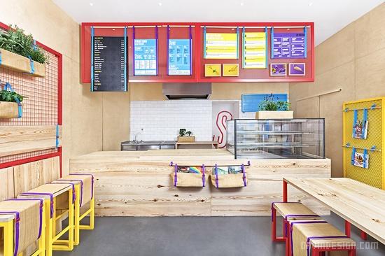 德国波恩 Kessalao 餐厅设计 餐厅设计 橱窗设计 德国 店面设计 spa