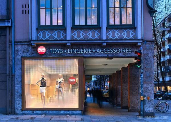 德国慕尼黑 Fun Factory 情趣用品店设计 情趣用品店设计 德国 店面设计 展厅设计