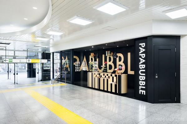 日本东京JR新宿站 Papabubble 糖果店设计 糖果店设计 日本 店面设计