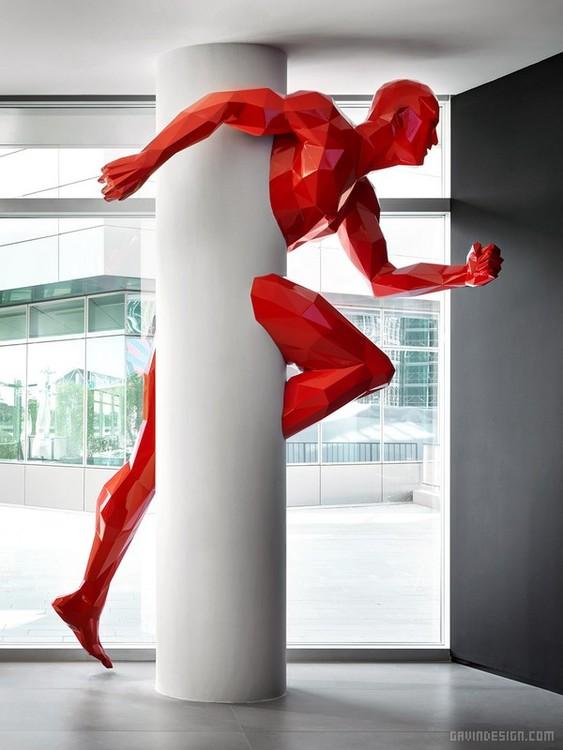 AC 米兰 Portello 地区新总部设计 酒店设计 连锁店设计 意大利 博物馆设计 办公空间设计 办公室设计