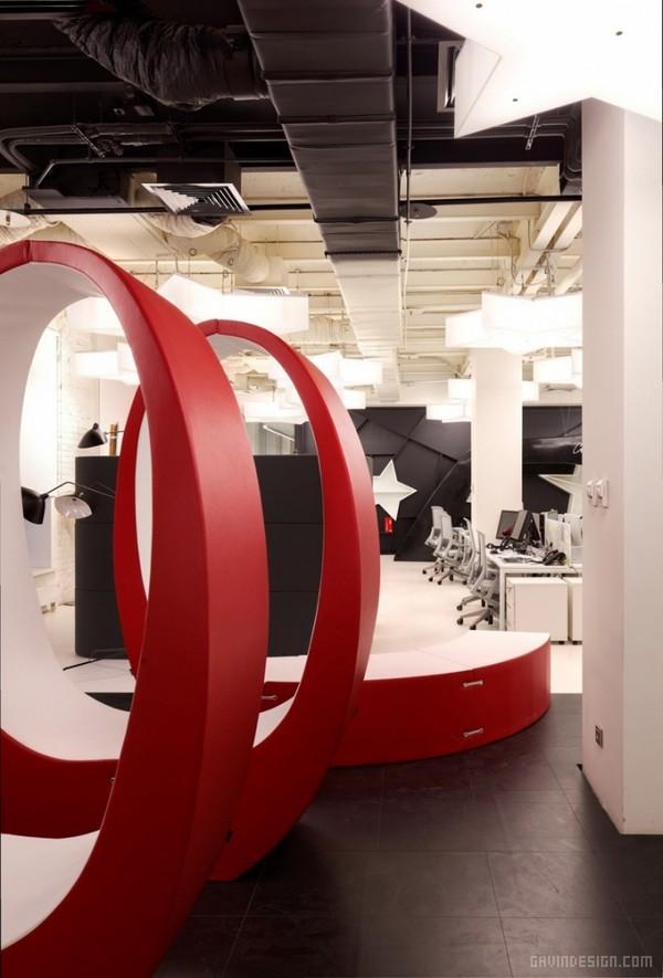 莫斯科 Leo Burnett 办公室设计 办公空间设计 办公室设计