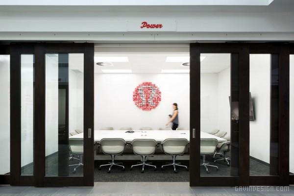 加拿大温哥华 Lululemon Athletica 办公室设计 加拿大 办公空间设计 办公室设计