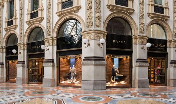 Prada Corners 2015 春夏橱窗设计 橱窗设计