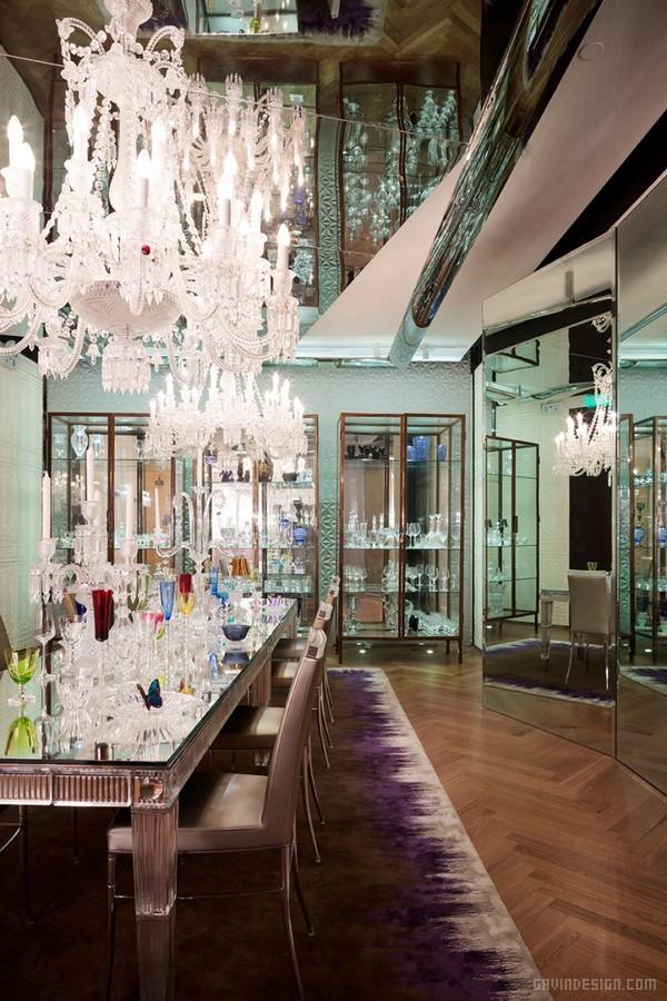 上海巴卡拉(Baccarat)展厅设计 展厅设计 商业空间设计 中国 专卖店设计 上海