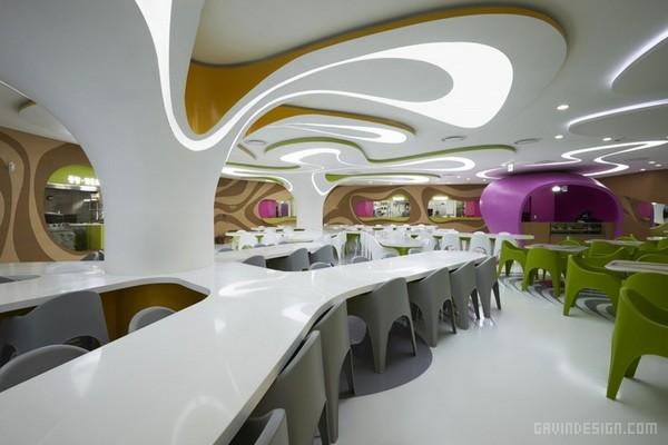 韩国首尔乐天百货 Amoje 美食城设计 餐厅设计 韩国 美食城设计 商业空间设计