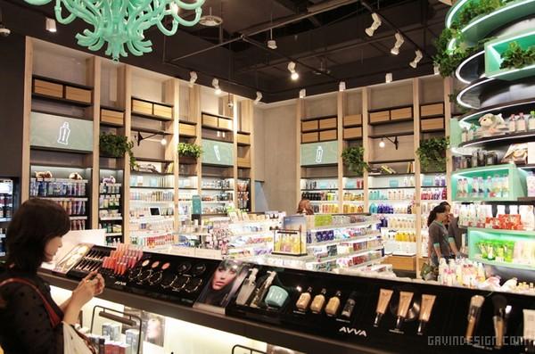 采活 el Vivo 彩妆超市终端形象设计 超市设计 商业空间设计 品牌形象设计 北京 中国 SI设计