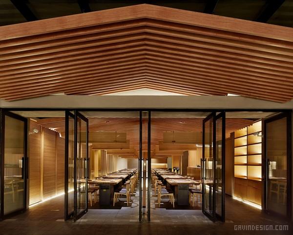 日本大阪东部 Tsuruichi Yakiniku 烤肉店设计 餐厅设计 烤肉店设计 日本 商业空间设计 SI设计