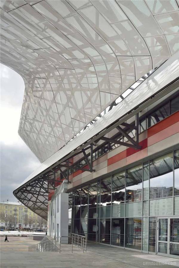 俄罗斯莫斯科 KBH 电影院设计 电影院设计 俄罗斯