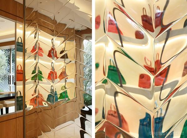 东京西麻布区 L'ECRIN 箱包店设计 箱包店设计 日本 店面设计 奢侈品店设计 专卖店设计
