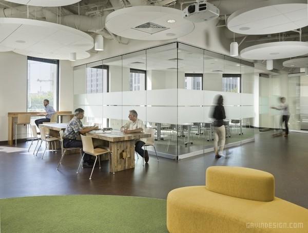 美国大自然保护协会(TNC)办公室设计 美国 办公空间设计 办公室设计