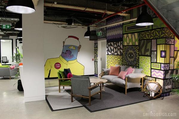 澳大利亚悉尼 Facebook 办公室设计 澳大利亚 办公空间设计 办公室设计