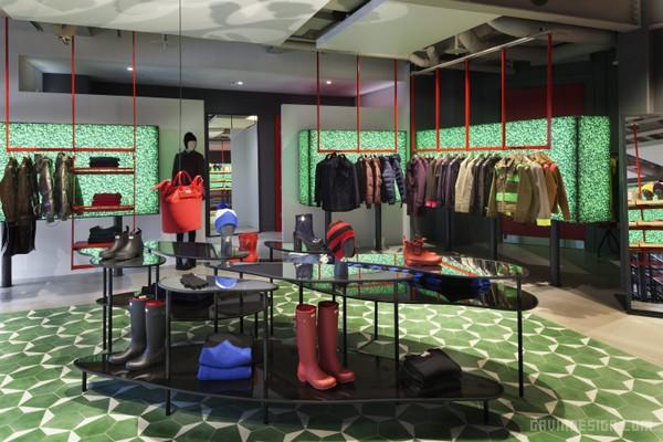 英国伦敦 Hunter 全球首家旗舰店设计 鞋店设计 英国 旗舰店设计 专卖店设计