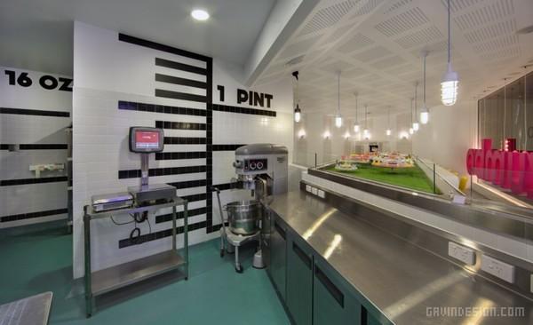 澳大利亚悉尼 ZUMBO 甜点店设计 蛋糕店设计 甜点店设计 澳大利亚 概念店设计 店面设计