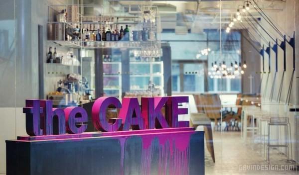 乌克兰 The cake 甜品店设计 蛋糕店设计 甜品店设计 店面设计 咖啡店设计