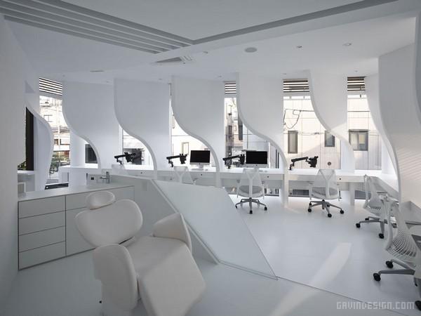 日本东京表参道 Ippin 牙科诊所设计 诊所设计 牙所设计 日本