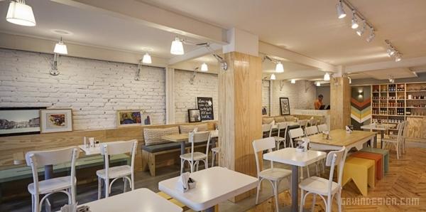 巴西 Padarie 咖啡馆设计 饮品店设计 店面设计 巴西 咖啡馆设计 咖啡店设计