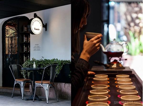 墨西哥 Tomás 茶叶店设计 茶叶店设计 墨西哥 VI设计 SI设计