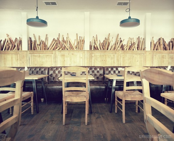 意大利 Tavernetta 餐厅设计 餐厅设计 意大利 商业空间设计