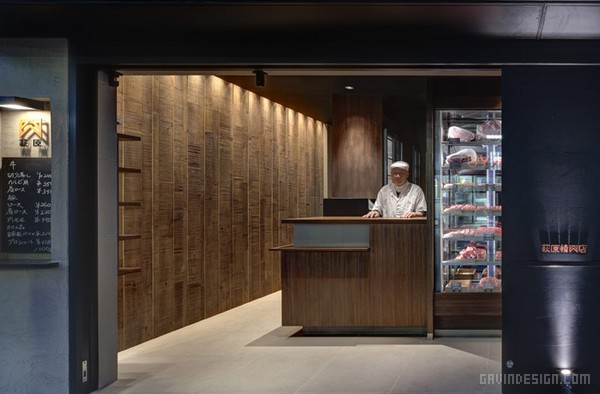 日本古城镰仓荻原(Hagiwara)肉店设计 肉店设计 日本 店面设计 专卖店设计