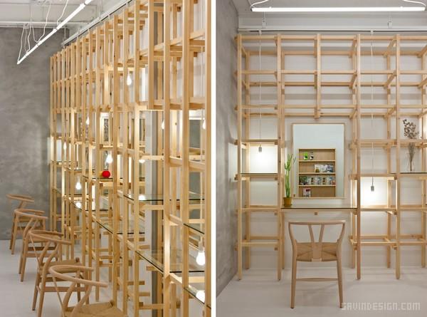 日本大阪 beauty salon 美发沙龙设计 美容店设计 美发沙龙设计 理发店设计 日本 商业空间设计