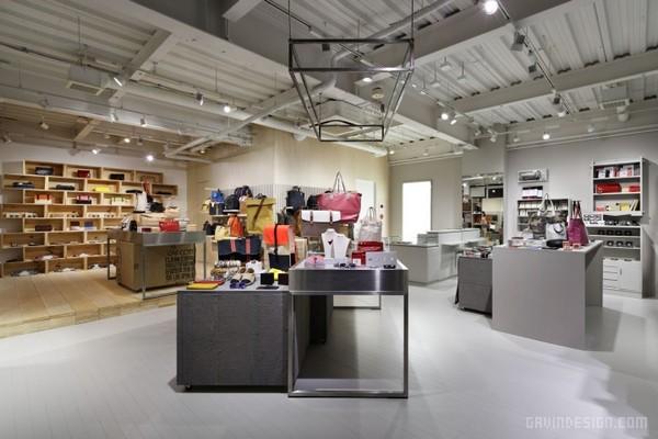 东京 KAPOK 旗舰店设计 箱包店设计 日本 旗舰店设计 专卖店设计