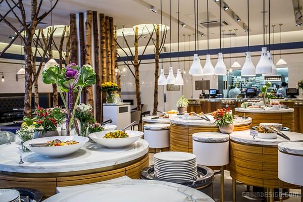英国伦敦 Ethos 休闲素食餐厅设计 餐厅设计 英国 商业空间设计