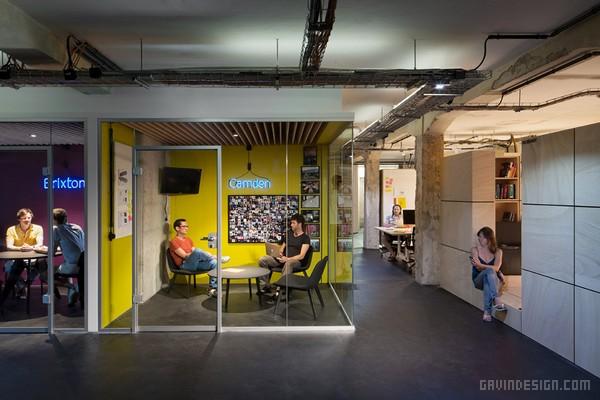 德国柏林 Soundcloud 总部办公室设计 德国 办公空间设计 办公室设计