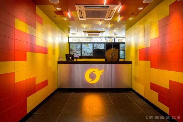 香港红磡区 Fire Chow 餐厅设计 香港 餐厅设计 商业空间设计 中国