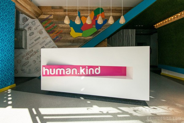 南非约翰尼斯堡 Human.Kind Advertising 办公室设计 办公空间设计 办公室设计