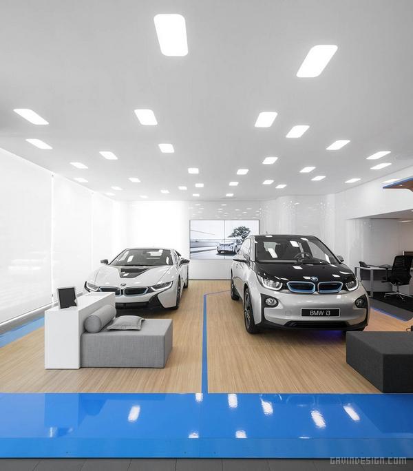 葡萄牙 BMW i 系销售展厅设计 展厅设计 4S店设计