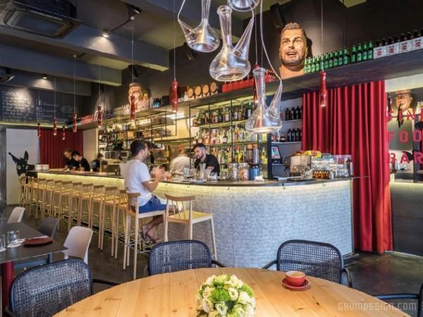 新加坡 FOC 餐厅设计 餐厅设计 新加坡 商业空间设计