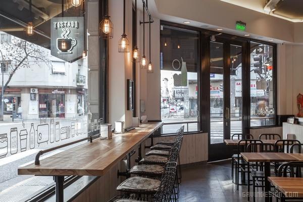 店面设计 商业空间设计 咖啡店设计 si设计