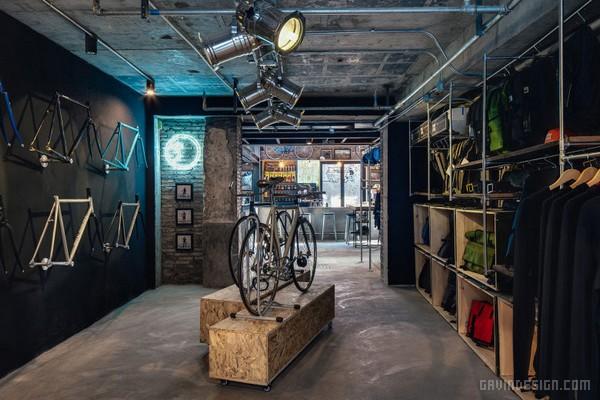 上海 FACTORY FIVE 单车店设计 自行车店设计 单车店设计 中国 专卖店设计 上海