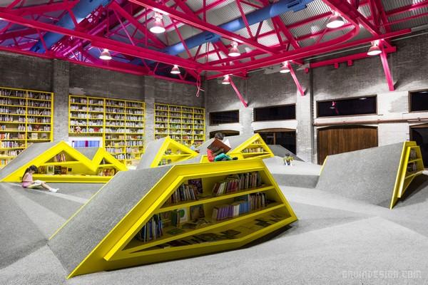 墨西哥蒙特雷 Ninos Conarte 儿童图书馆设计 墨西哥 图书馆设计