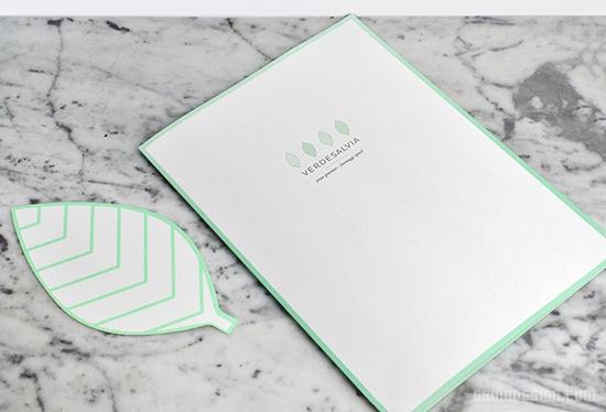 Verde Salvia 餐厅VI设计 餐厅设计 标识设计 包装设计 VI设计 SI设计
