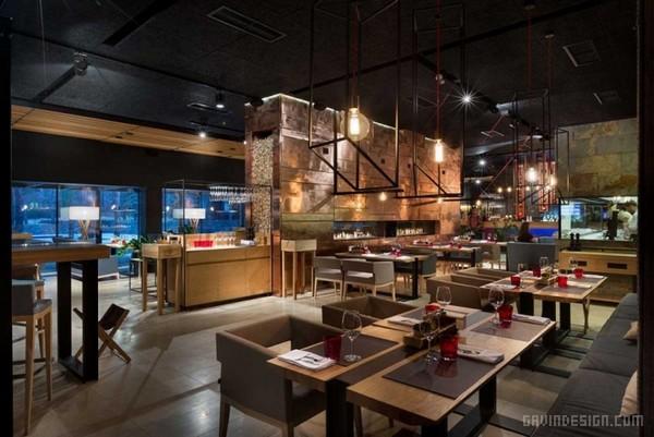 乌克兰 Food & Forest 餐厅设计 餐厅设计