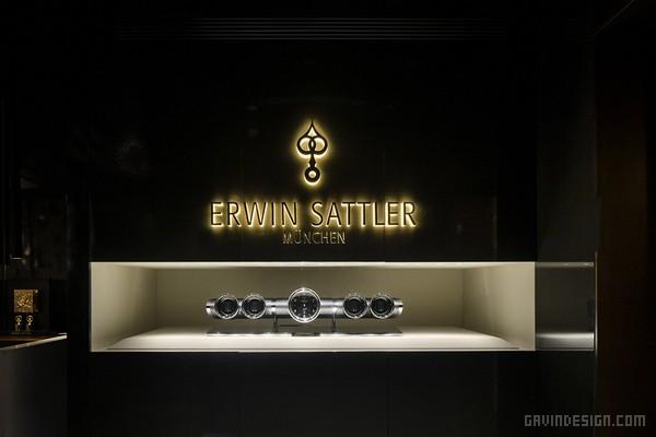 上海外滩昂文德帝(ERWIN SATTLER)钟表店设计 钟表店设计 形象店设计 中国 专卖店设计 上海