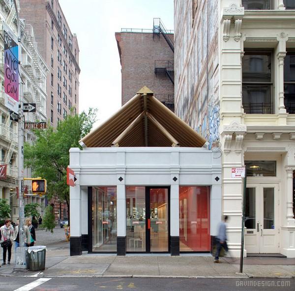 纽约苏荷 Camper 专卖店设计 鞋店设计 美国 专卖店设计
