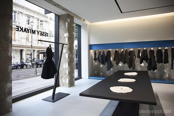 伦敦布鲁克街三宅一生(ISSEY MIYAKE)旗舰店设计 英国 旗舰店设计 专卖店设计