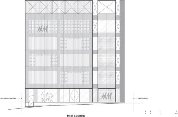 韩国首尔Hongdae H&M店面设计 旗舰店设计 店面设计 卖场设计 专卖店设计