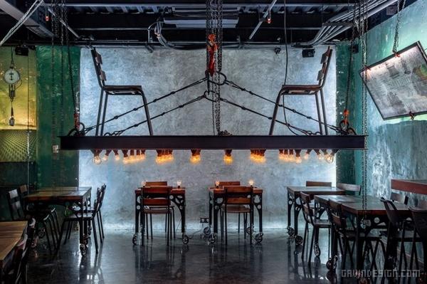德黑兰 JoGrilledFood 餐厅设计 餐厅设计 酒吧设计 店面设计 商业空间设计