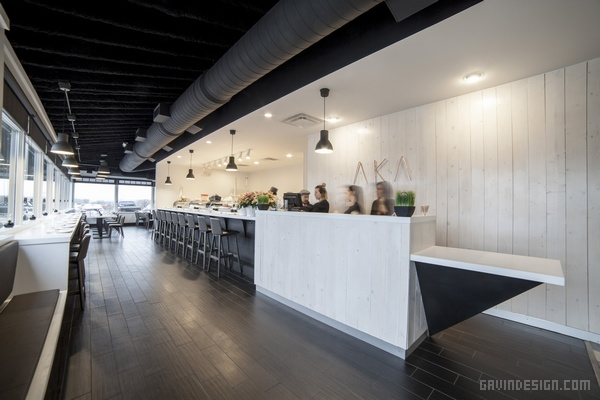 美国杰克逊 AKA 寿司店设计 餐厅设计 美国 日本 店面设计 寿司店设计 商业空间设计